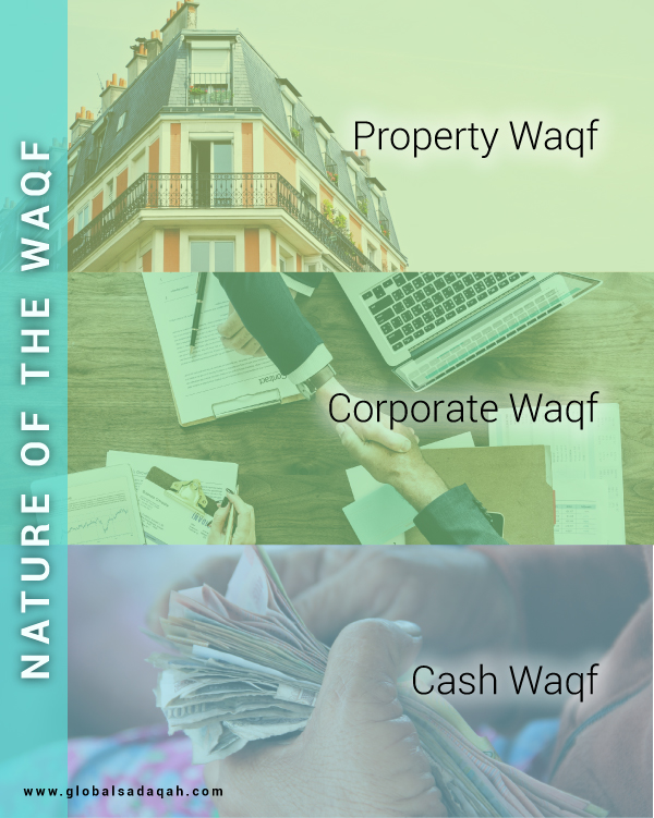Types of Waqf